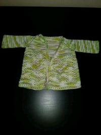 Knitted Green Baby Sweater New Westminster, V3L