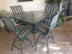Patio table and chairs in san angelo letgo Angelo home patio furniture