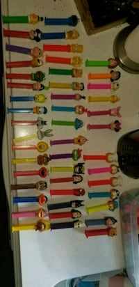 45 Vintage collectible PEZ dispensers  27 mi