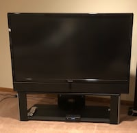 black LG flat screen TV Oakton, 22124