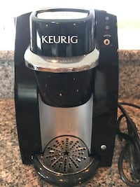 Black and silver keurig single serve coffee maker Fairfax, 22180