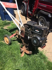 Snapper tiller with 5 hp Briggs and Stratton Evansville