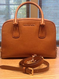 brown Michael Kors leather tote bag Ashburn, 20147