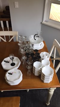 Dish set. Includes glassware,bowls and serving platters  Langley, V3A 3H7
