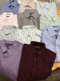 X-Large Men's Shirts 11 pcs.  Augusta, 30907