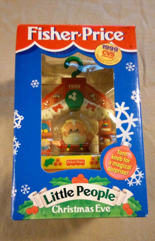 Cvs Hours Christmas Eve.New Fisher Price Little People Christmas 1999 Cvs