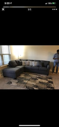 Gray sectional 550 or OBO *Pickup Only* Temple Hills, 20748