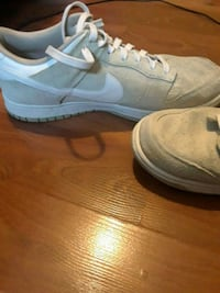 pair of white Nike low-top sneakers Abbotsford, V2S 4V2