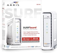 ARRIS SURFboard SB6190 DOCSIS 3.0 Cable Modem: BRAND NEW