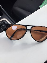 Black framed sunglasses with black lens Toronto, M9W 0B4