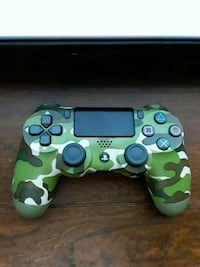 green and white camouflage Sony PS4 DualShock 4 Waterbury, 06704