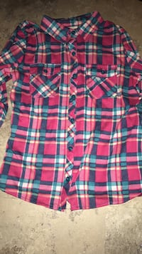 red, blue, and green plaid sport shirt Enid, 73703