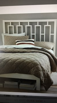 Westelm Twin Bed set with Mattress. Never used.  Used as home staging  Lake Forest, 92610