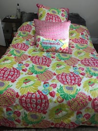 green, pink, and white floral textile Wellington, 33414