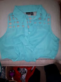 women's blue sleeveless top Mississauga, L5M 6L4