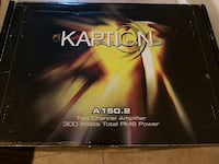 amplifier 300watts and speaker or OBO Ontario, M5M 3Z4