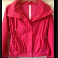 red and white zip-up jacket Burnaby, V3N 4J5