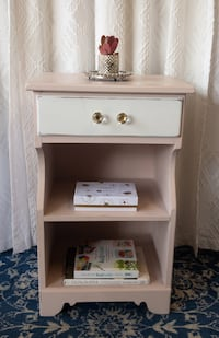 Shabby Chic Ethan Allen Sidetable or Nightstand