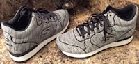 Skechers gray & black mesh sneakers ( new ) Calgary, T2J 1V4