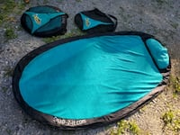 Snap it beach mats!!!  Only used 3 times, work gre