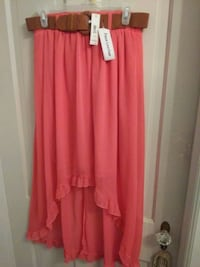 No boundaries high low skirt with belt Hagerstown, 21740