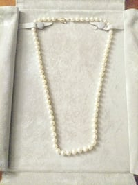 Pearls with 14kt gold clasp