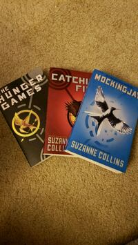 Hunger Games trilogy book series Los Angeles, 91601