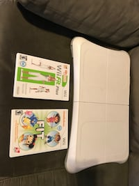 Wii fit board and games  56 km