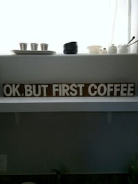 Coffee sign Barrie