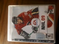NHL 09 PS3 game case 3690 km