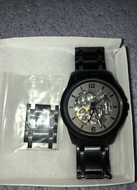 Black and Silver Men's Relic Watch