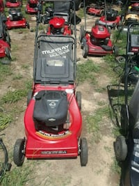 red and black Murray push mower Fayetteville, 28314