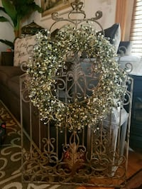 French country wreath holder Laurel, 20707