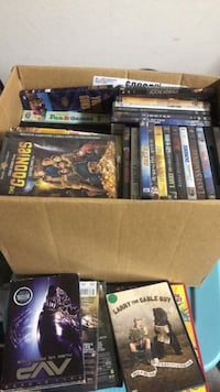 Box full of new dvds Litchfield Park, 85340