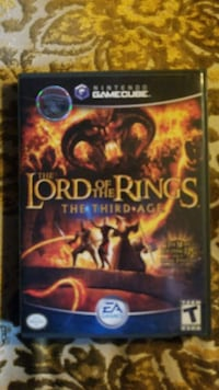 Lord of the Rings The Third Age Gamecube Toronto, M2L 2N1