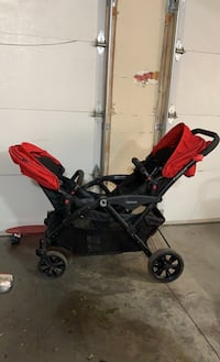 Double stroller, with infant seat attachment Boise, 83706