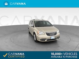 2013 Chrysler Town and Country van Limited Minivan 4D Beige