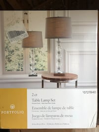 Table lamp set