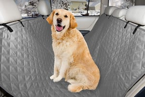 Pet Quilted Hammock Car Rear Seat Cover