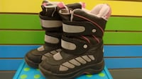 (315) Girl's Winter Boots COGUAR - Size 1