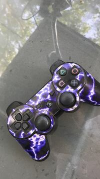 dualshock 3 controller for ps3 with purple lighting skin Rohnert Park, 95404