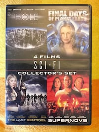 2 DVD MOVIE * Collectors set 4 Sci- Fi films / Check cover for name of films Alexandria, 22311