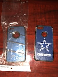 two blue and black iPhone cases Visalia, 93277