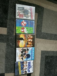 5 Dvd Movies - New in sealed packages $20 Edmonton, T5P 4L9
