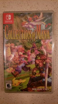 Collection of mana for nintendo switch brans new sealed Toronto, M4Y 0A9