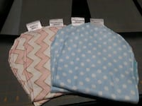 Double sided reversible burp rags Caldwell, 83605