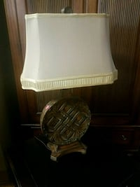 white and brown table lamp Metairie, 70002