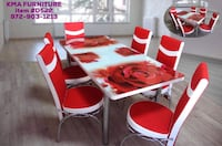Dining table 7 Pc with set chairs (( free delivery)) Richardson, 75081
