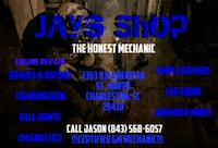 "Mechanic Jay's Shop ""The Honest Mechanic"" Summerville"