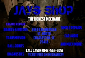 "Mechanic Jay's Shop ""The Honest Mechanic"""
